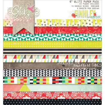 Glitz Design Finnley Double-Sided Paper Pad