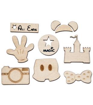 Magic Woodies Laser Cut Shapes 10/Pkg -