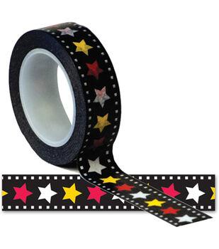 Magic Trendy Tape 15mm X 10yds-Stars
