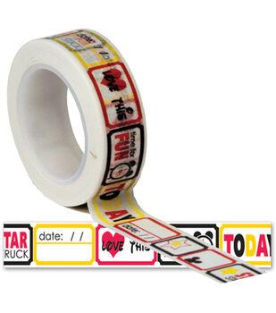 Magic Trendy Tape 15mm X 10yds-Tickets