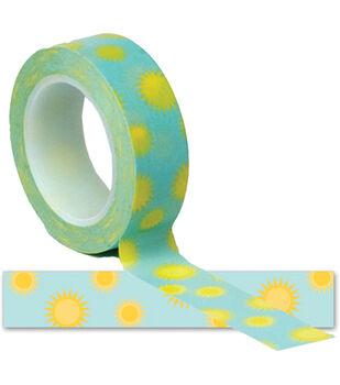 Summer Trendy Tape 15mm X 10yds-Sunshine