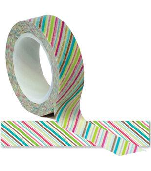 Summer Trendy Tape 15mm X 10yds-Diagonals