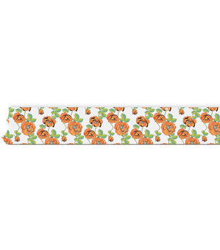 "77 Washi Tape .5""X32 Feet-Floral"