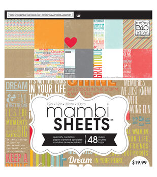 Me & My Big Ideas Inspiration Quotes - Mambi Paper Pad