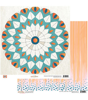 "Kaleidoscope - 77 Double-sided Heavy Weight Paper 12""x12"""