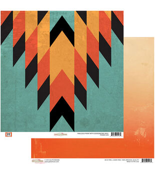 "Fringe - 77 Double-sided Heavy Weight Paper 12""x12"""