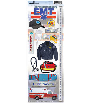 Paper House Cardstock Stickers-EMT