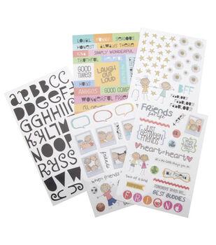 Me & My Big Ideas Sticker Packs-A Kid Like Me & Friends For Life