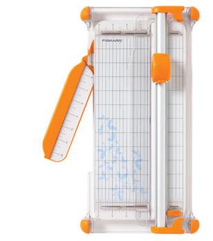 Fiskars Portable Rotary Trimmer Yellow/Orange