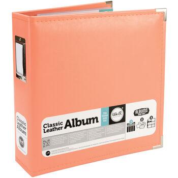 "Classic Faux Leather 8.5 x 11"" Binder Album"