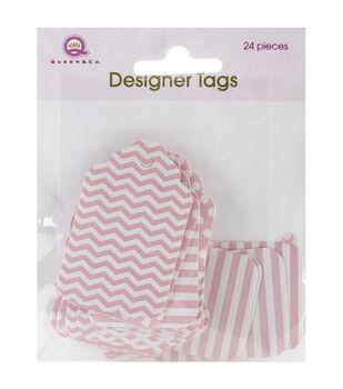 "Designer Tags 2""X1.25"" 24/Pkg"