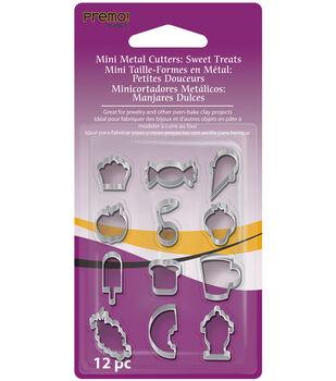 Premo Mini Metal Cutters 12/Pk-Sweet Treats