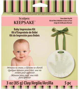 Sculpey Keepsake Baby Impression Kit-