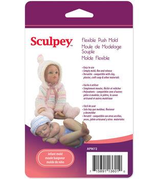 Sculpey Flexible Push Mold-Infant Doll