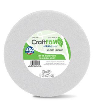 Styrofoam Disc 9'' x 1-1/4''