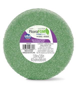 Styrofoam 3-7/8''x1-15/16'' Disc Arranger-1PK/Green