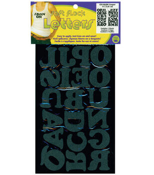 Dritz 1.5'' Iron-On Letters Cooper Black
