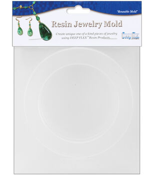 "Yaley Resin Jewelry Reusable Plastic Mold-Bangle .75""X.625""X2.625"""