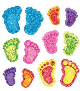 Sandylion Classpak Stickers-Footprints