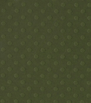 Bazzill Dotted Swiss Cardstock Paper Thicket 12''x12''