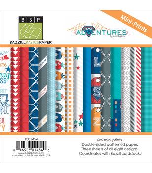 6X6 Prints-Adventures Mult Pack