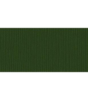 """Bazzill Cardstock 12""""X12""""-Avocado/Grass Cloth"""