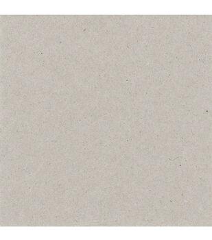 Bazzill 6''x6'' Chipboard Sheets-25PK/Gray