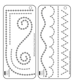 Bazzill Self-Adhesive Jewel Templates-2PK/Borders
