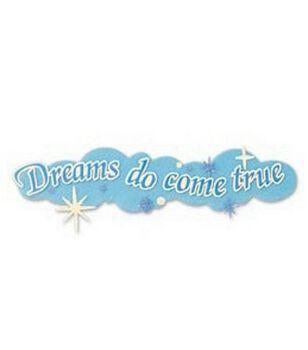 Disney Title Stickers-Dreams Do Come True
