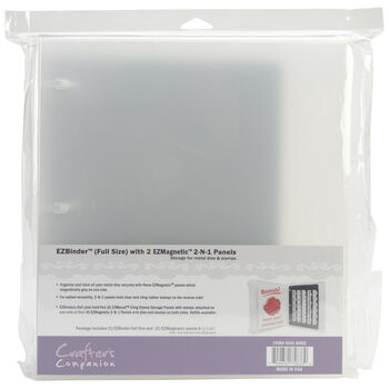 Crafter's Companion EZMagnetic 2-N-1 Storage System Starter Set Full