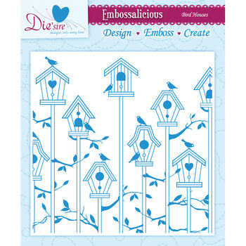 Crafter's Companion Embossalicious Embossing Folders Bird House