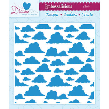 Crafter's Companion Embossalicious Embossing Folders Clouds
