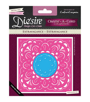 Die'sire Create-A-Card Cutting & Embossing Die-Extravagance