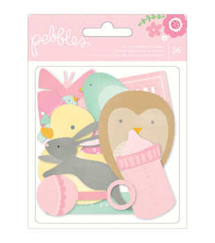 Special Delivery Girl Die-Cuts 36/Pkg-Shapes, Frames, Tags, etc.