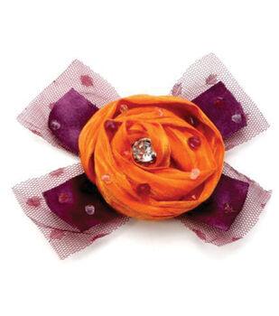 Laliberi by Julie Comstock Embellish A Bloom Kit-Light Orange