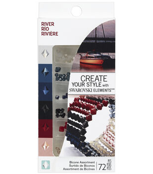 Create Your Style Swarovski Crystal Assortment 72pc-River