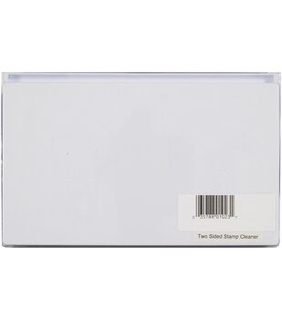 Hot Off The Press Two Sided Stamp Cleaner-White