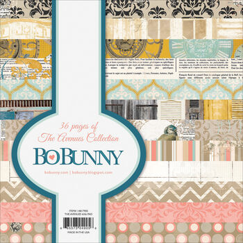 Bo Bunny The Avenues Single-Sided Paper Pad