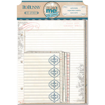 Bo Bunny The Avenues Misc Me Note Papers