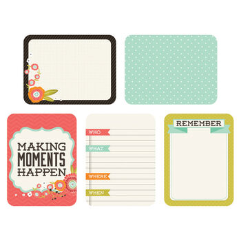 Kaisercraft Captured Moments Double-Sided Cards Favorite Things 3''X4''