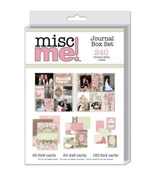 Bo Bunny Misc Me Journal Box Set Primrose