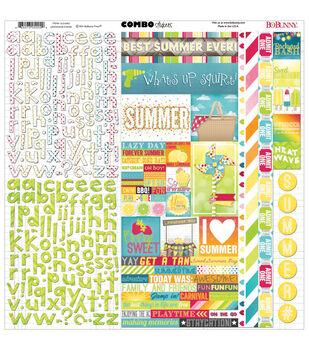 "Lemonade Stand Combo Stickers 12""X12"""