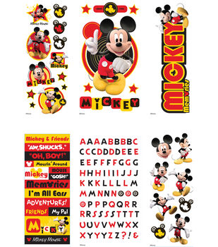 Disney's Mickey Mouse Value Sticker Set (6 Sheets)