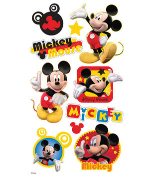 EK Success Disney Puffy Stickers-Mickey Mouse