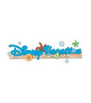 Disney Title Stickers-Vacation