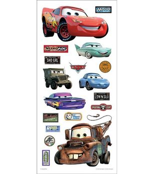 Sandylion Disney Cars Stickers/Borders-Cars