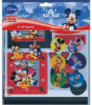 Mickey Mouse & Friends  8''X8'' Page Kit