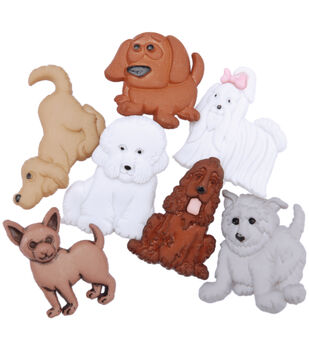 Dress It Up Embellishments-Puppy Parade