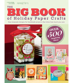 Leisure Arts-Big Book Holiday Paper Crafts