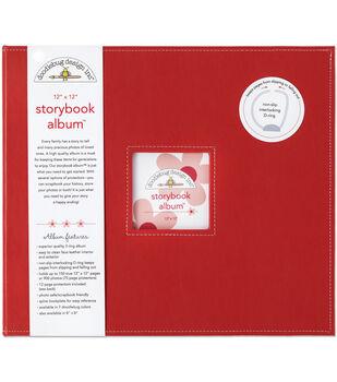 Doodlebug Storybook Album 12''x12''-Ladybug